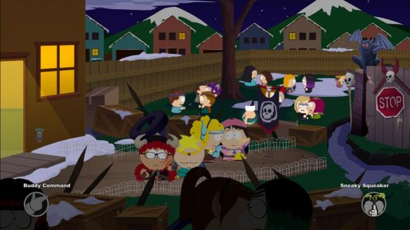 South Park Stick of Truth combat